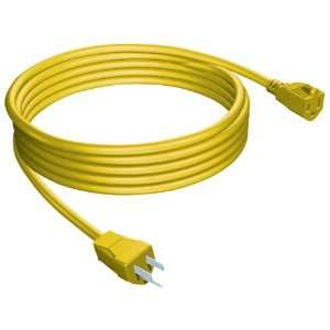 Stanley 33257 Yellow Outdoor Extension Cord, 25 Foot
