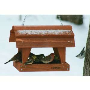 Fly Thru Barn Feeder   (Bird Feeders) (Seed Feeders