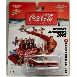 Coca Cola Holiday Automents 1955 Ford Crown Victoria Toys & Games