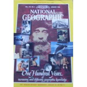 National Geographic January 1988 One Hundred Years