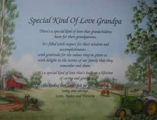 SPECIAL LOVE GRANDPA POEM FATHERS DAY / CHRISTMAS GIFT