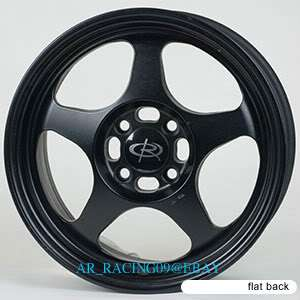 15 ROTA RIMS SLIPSTREAM BK Del Sol Miata CIVIC INTEGRA