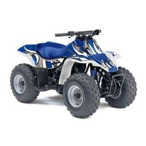 AMR Racing Suzuki LT80 All Years ATV Quad Graphic Kit   Tribal Blue