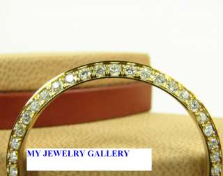 18K YELLOW GOLD DIAMOND BEZEL FOR MEN ROLEX WATCH