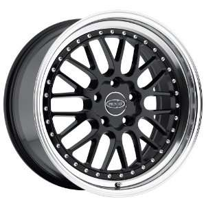 18x8.5 Privat Werks (Matte Black w/ Machined Lip) Wheels