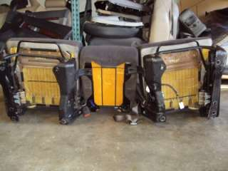 1998 2002 Dodge Ram 1500 Front Cloth Bucket Seats w/ Jumpseat Center