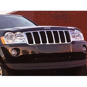 Jeep Grand Cherokee Chrome Grille Applique Automotive