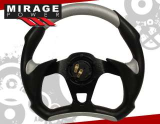 ECLIPSE 1G 2G 3G 320mm PVC LEATHER RACE STEERING WHEEL
