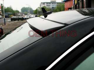 painted mercedes benz c class w204 4d sedan oem type roof spoiler 2008