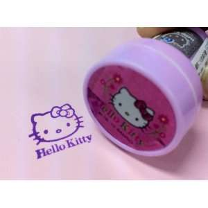 AUTHENTIC Sanrio Hello Kitty Face Head Purple Self Ink