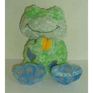 Kids II Bright Starts Smooches Prayer Frog plush stuffed
