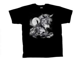 Wolves T Shirt,Wolf Collage Silhouette