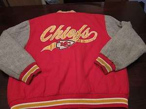 VTG Kansas City Chiefs NFL Football Varsity Fresh Swaggin Cool Wool