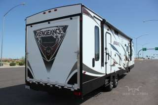 2012 WOLF PACK VENGEANCE 300 SINGLE SLIDE TOY HAULER BRAND NEW
