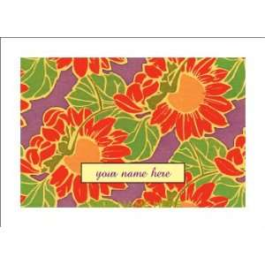 Personalized Stationery Note Cards with Art Nouveau