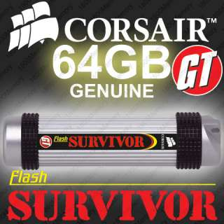 CORSAIR Flash Survivor GT 64GB Rugged USB Thumb Drive