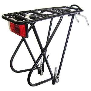 Bike Rear Rack, Aluminum 3 Leg Rear Bike Rack with spring