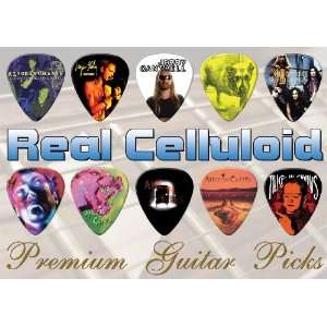 Alice In Chains Premuim Guitar Picks X 10 (A5) Musical