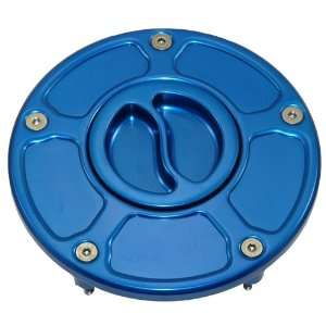 Blue Flush/Race Style Screw Gas Cap Honda (All) (Product
