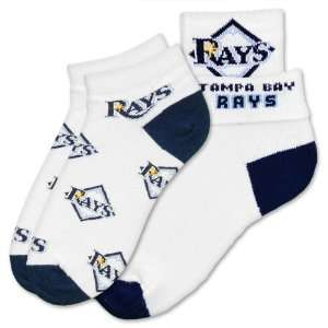 MLB Tampa Bay Rays Womens Socks (2 Pack) Sports