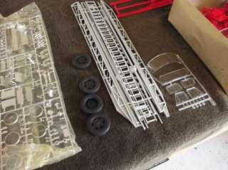 Amt Scale ? American LaFRANCE ladder chief Fire Truck Parts Kit # T598
