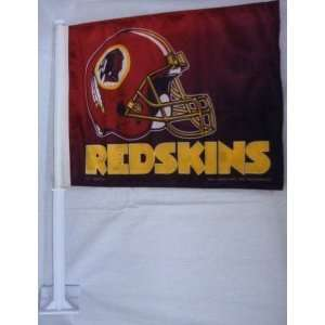 NFL WASHINGTON REDSKINS TEAM LOGO CAR FLAG Sports