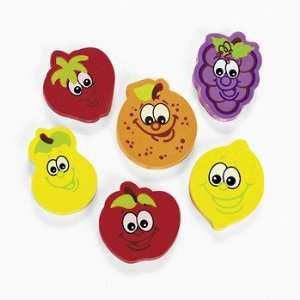 Fruit Erasers   Basic School Supplies & Erasers & Pencil