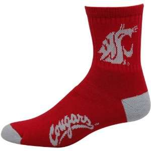 NCAA Washington State Cougars Red Black Dual Color Team