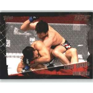 2010 Topps UFC Trading Card # 63 Chael Sonnen (Ultimate