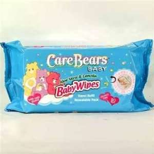 Care Bears Baby Wipes w/ Aloe & Lanolin Case Pack 24