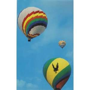 Hot Air Balloon Race Anderson Indiana Post Card 70s