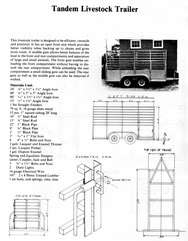 CAR TRUCK TRAILER HAULER BUILDING PLANS FARMING CD