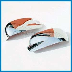 02 09 GMC Envoy Chevy Trailblazer Chrome Mirror Covers