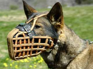 Handcrafted Top Quality Dog Muzzle German Shepherd