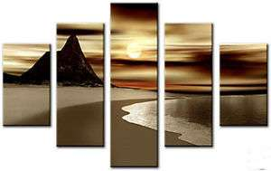 Abstract Painting Canvas Arts & Craft Decoration Modern Wall Large 1