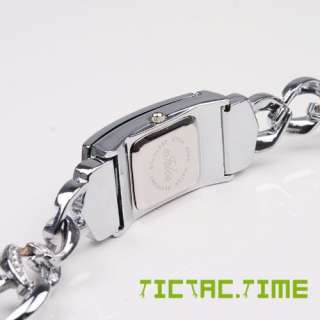 Fashion CRYSTAL CROSS Lady BRACELET Watch BANGLE Quartz