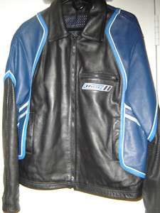 THOR FACTORY SUPERCROSS LEATHER LARGE MENS JACKET