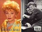Love Lucy   Lucille Ball HC w/DJ 1st EDITION 1996
