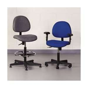 BEVCO Value Line Task Seating   Black  Industrial