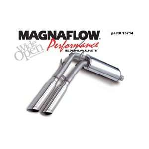 MagnaFlow Cat Back Dual Exhaust System, for the 2001 Ford