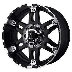 XD Spy Gloss Black Machined Wheels 8x170 Superduty / Excursion