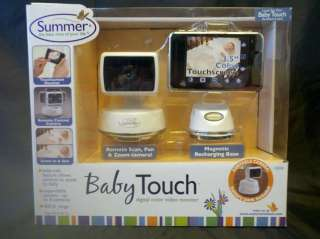 Summer Infant Baby Touch Digital Color Video Monitor 3.5 ColorTouch