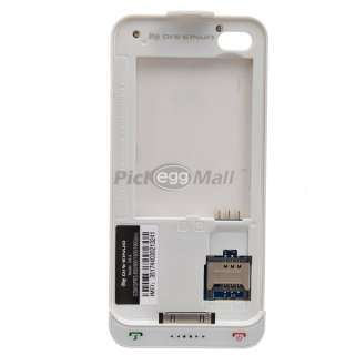 HOT D4 S Dual SIM Card Dual Standby External Battery Case Cover for