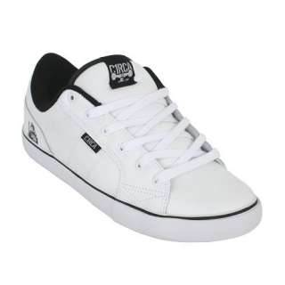 Circa Cero White Black Boys Mens Skate Shoe AL50 New in Box