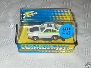 Johnny Lightning CHEVY VEGA PRO STOCK White SLOT Car HO