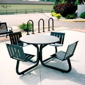 Petersen Commercial Parkhill Picnic Table Patio, Lawn