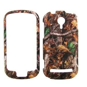 AT&T LG QUANTUM MOSSY OAK CAMO CAMOUFLAGE HUNTER HARD PROTECTOR SNAP