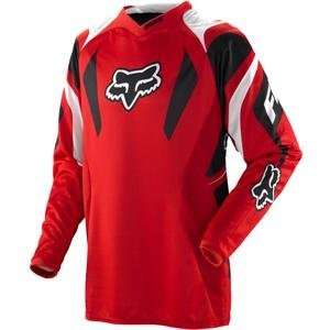 Fox Racing 360 Race Jersey Bright Red M Automotive