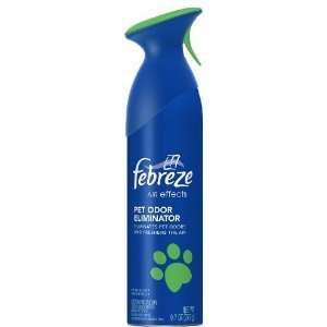 Febreze Air Effects pet Odor Eliminator 9.7 Oz ( 9 Pack