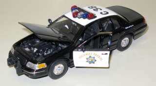 1999 Ford Crown Vic California State Patrol Model 127